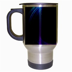 Spaces Ring Travel Mug (silver Gray)