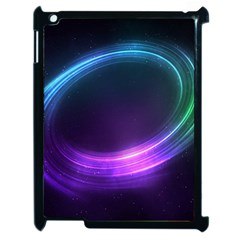 Spaces Ring Apple Ipad 2 Case (black)