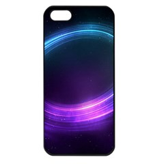 Spaces Ring Apple Iphone 5 Seamless Case (black)