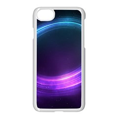 Spaces Ring Apple Iphone 7 Seamless Case (white)