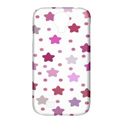 Star Purple Samsung Galaxy S4 Classic Hardshell Case (pc+silicone) by AnjaniArt