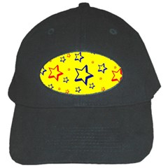Star Yellow Red Blue Black Cap