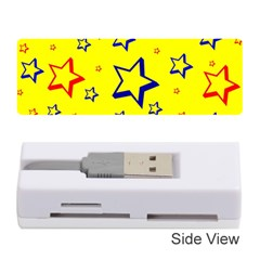 Star Yellow Red Blue Memory Card Reader (stick)
