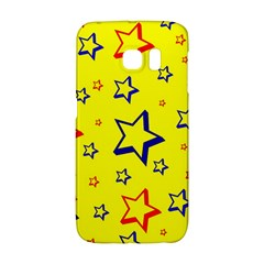 Star Yellow Red Blue Galaxy S6 Edge