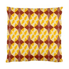 Star Brown Yellow Light Standard Cushion Case (one Side) by AnjaniArt
