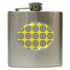 Sunflower Hip Flask (6 Oz)