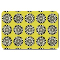 Sunflower Large Doormat  by AnjaniArt