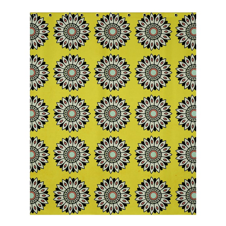 Sunflower Shower Curtain 60  x 72  (Medium)