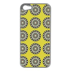 Sunflower Apple Iphone 5 Case (silver)