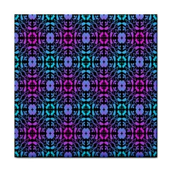Star Flower Background Pattern Colour Face Towel