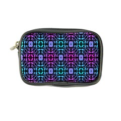 Star Flower Background Pattern Colour Coin Purse