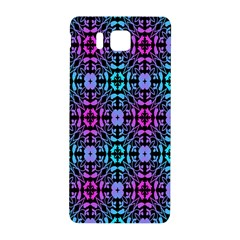 Star Flower Background Pattern Colour Samsung Galaxy Alpha Hardshell Back Case by AnjaniArt