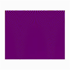 Stripy Purple Small Glasses Cloth (2 Side)