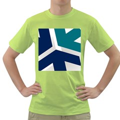 Tri Star Flag Green T Shirt