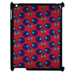 Texture Bright Circles Apple Ipad 2 Case (black) by AnjaniArt