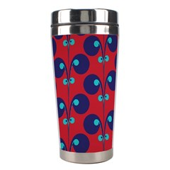 Texture Bright Circles Stainless Steel Travel Tumblers