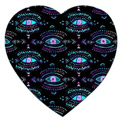 Third Eye Purple Jigsaw Puzzle (heart)