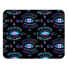 Third Eye Purple Double Sided Flano Blanket (large)
