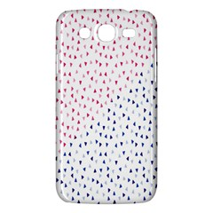 Triangle Red Blue Samsung Galaxy Mega 5 8 I9152 Hardshell Case  by AnjaniArt