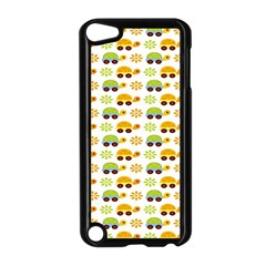 Turtle Green Yellow Flower Animals Apple Ipod Touch 5 Case (black)