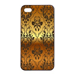 Vintage Gold Gradient Golden Resolution Apple Iphone 4/4s Seamless Case (black) by AnjaniArt