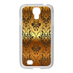 Vintage Gold Gradient Golden Resolution Samsung Galaxy S4 I9500/ I9505 Case (white) by AnjaniArt