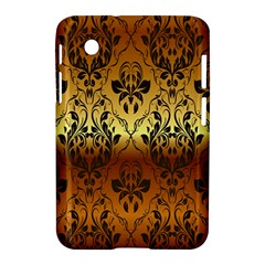 Vintage Gold Gradient Golden Resolution Samsung Galaxy Tab 2 (7 ) P3100 Hardshell Case  by AnjaniArt
