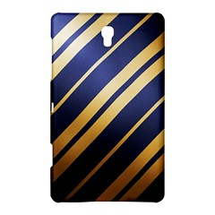 Wave Blue Gold Samsung Galaxy Tab S (8 4 ) Hardshell Case  by AnjaniArt