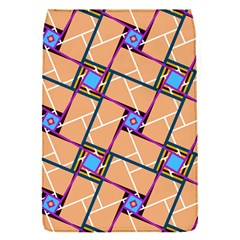 Wallpaper Overlaid Brown Line Purple Blue Box Flap Covers (s)  by AnjaniArt