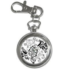 Free Floral Decorative Key Chain Watches by AnjaniArt