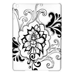 Free Floral Decorative Ipad Air Hardshell Cases
