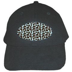 Giraffe Skin Animals Black Cap