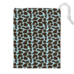 Giraffe Skin Animals Drawstring Pouches (xxl)