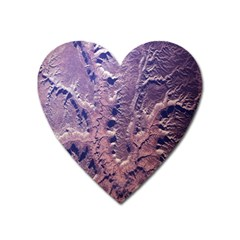 Grand Canyon Space Heart Magnet by AnjaniArt