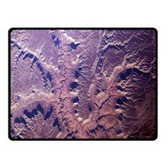 Grand Canyon Space Double Sided Fleece Blanket (small)