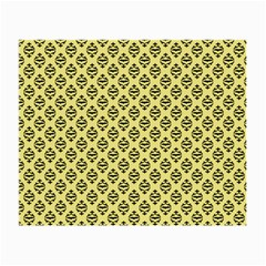 Halloween Scrapbook Paper Bat Yellow Small Glasses Cloth (2 Side)