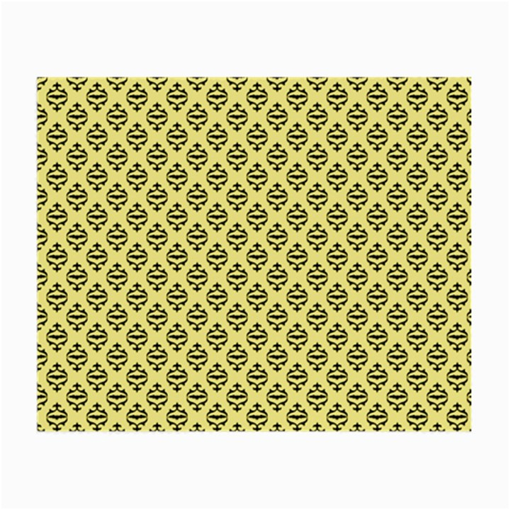 Halloween Scrapbook Paper Bat Yellow Small Glasses Cloth (2-Side)