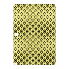 Halloween Scrapbook Paper Bat Yellow Samsung Galaxy Tab Pro 10 1 Hardshell Case
