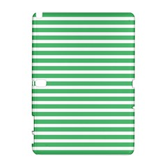 Horizontal Stripes Green Galaxy Note 1