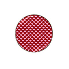 Hearts Love Valentine Pink Day Happy Wallpaper Hat Clip Ball Marker