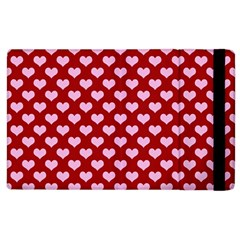 Hearts Love Valentine Pink Day Happy Wallpaper Apple Ipad 3/4 Flip Case by AnjaniArt