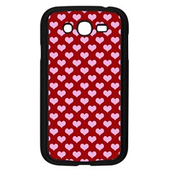 Hearts Love Valentine Pink Day Happy Wallpaper Samsung Galaxy Grand Duos I9082 Case (black)