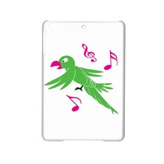 Parrot Bird Green Ipad Mini 2 Hardshell Cases by AnjaniArt