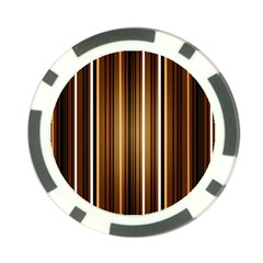 Line Brown Poker Chip Card Guard