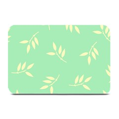Pastel Leaves Plate Mats