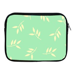 Pastel Leaves Apple Ipad 2/3/4 Zipper Cases by AnjaniArt