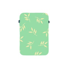 Pastel Leaves Apple Ipad Mini Protective Soft Cases by AnjaniArt