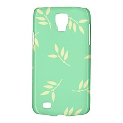 Pastel Leaves Galaxy S4 Active by AnjaniArt