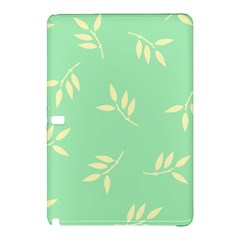 Pastel Leaves Samsung Galaxy Tab Pro 12 2 Hardshell Case by AnjaniArt