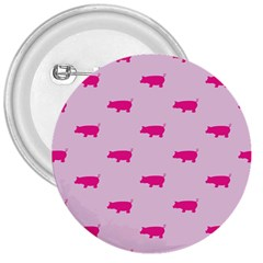 Pig Pink Animals 3  Buttons by AnjaniArt